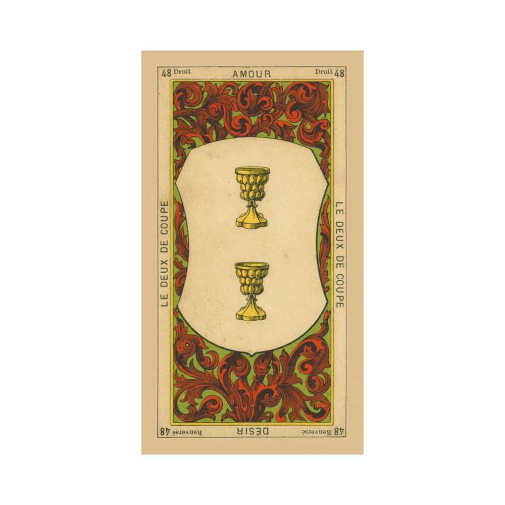 Etteilla Tarot Cards The Book of Thoth